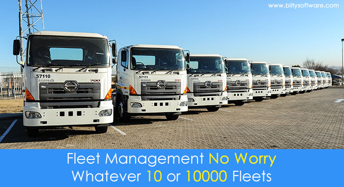 The Complete Solutions for Your Fleet Management System